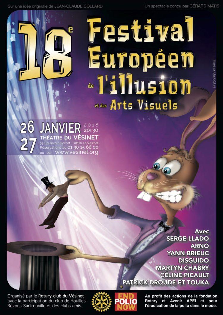 XVIIIème Festival Européen de l'Illusion et des Arts Visuels
