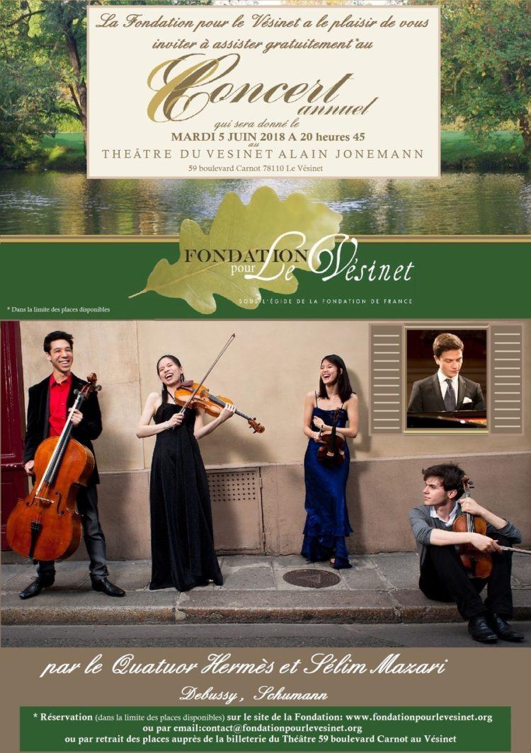 Concert annuel Fondation pour Le Vésinet