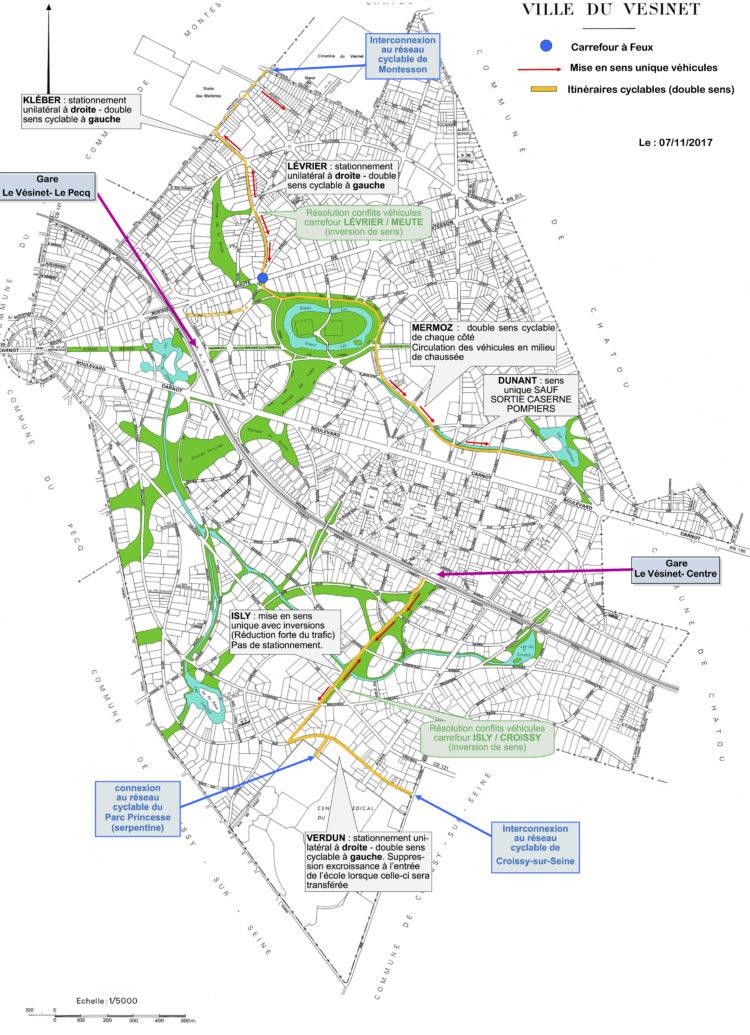 Le plan de déploiement des circulations douces en action