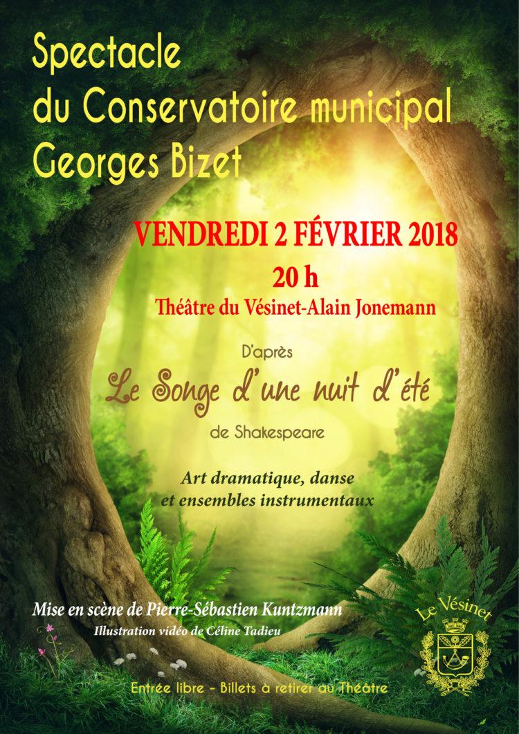 Spectacle du Conservatoire Georges Bizet