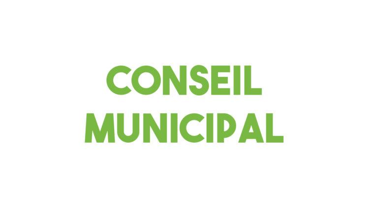 Conseil municipal jeudi 5 juillet