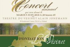 La Fondation pour Le Vésinet vous invite à son concert annuel