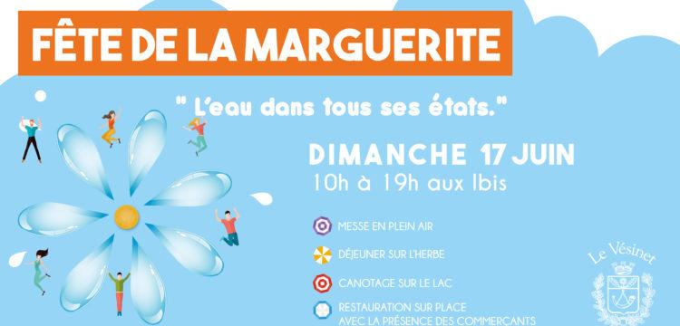 La Fête de la Marguerite : «L'eau dans tous ses états.»