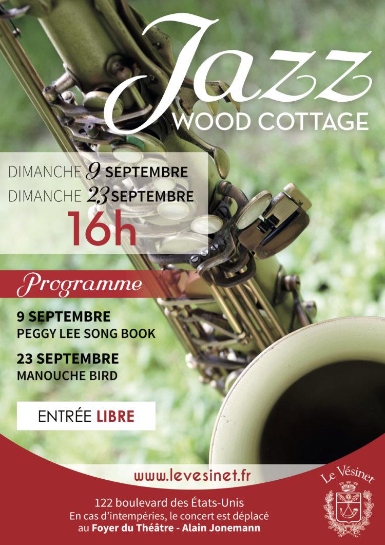 Jazz au Wood Cottage déplacé au Théâtre du Vésinet
