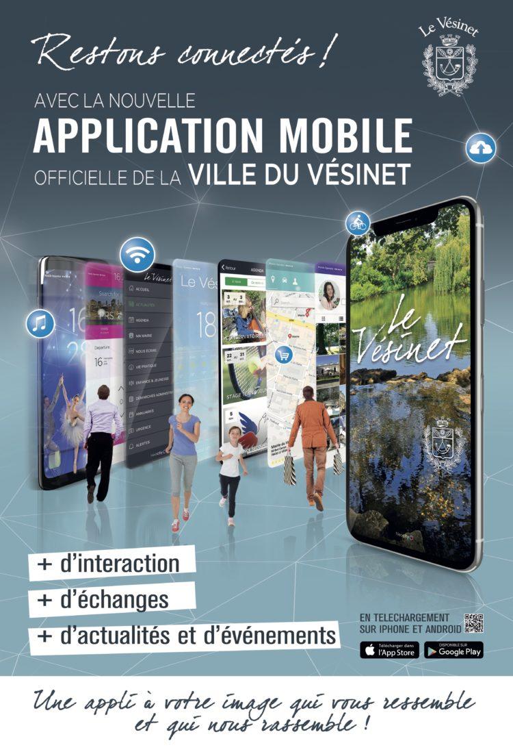 La Ville du Vésinet a désormais son application mobile officielle !