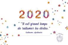 Très belle année 2020 !