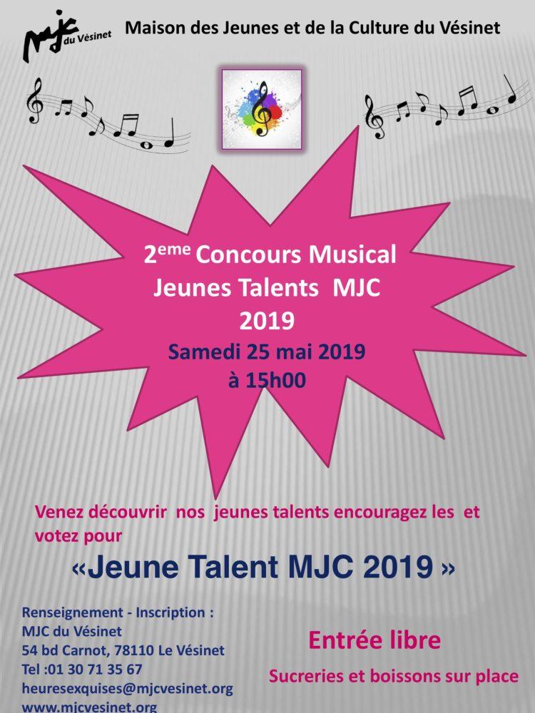 2ème Concours Musical «Jeunes Talents MJC 2019»