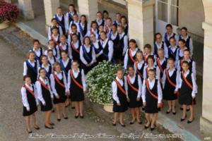 A Saint-Germain-en-Laye : concert de laMaîtrise des Demoisellesde la Légion d'honneur