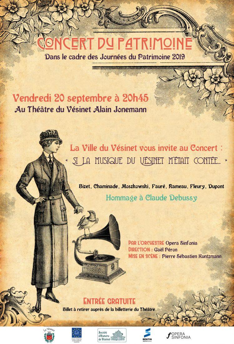 Concert du Patrimoine « Si la musique du Vésinet m'était contée… »