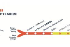 Attention aux travaux du RER A cet été !
