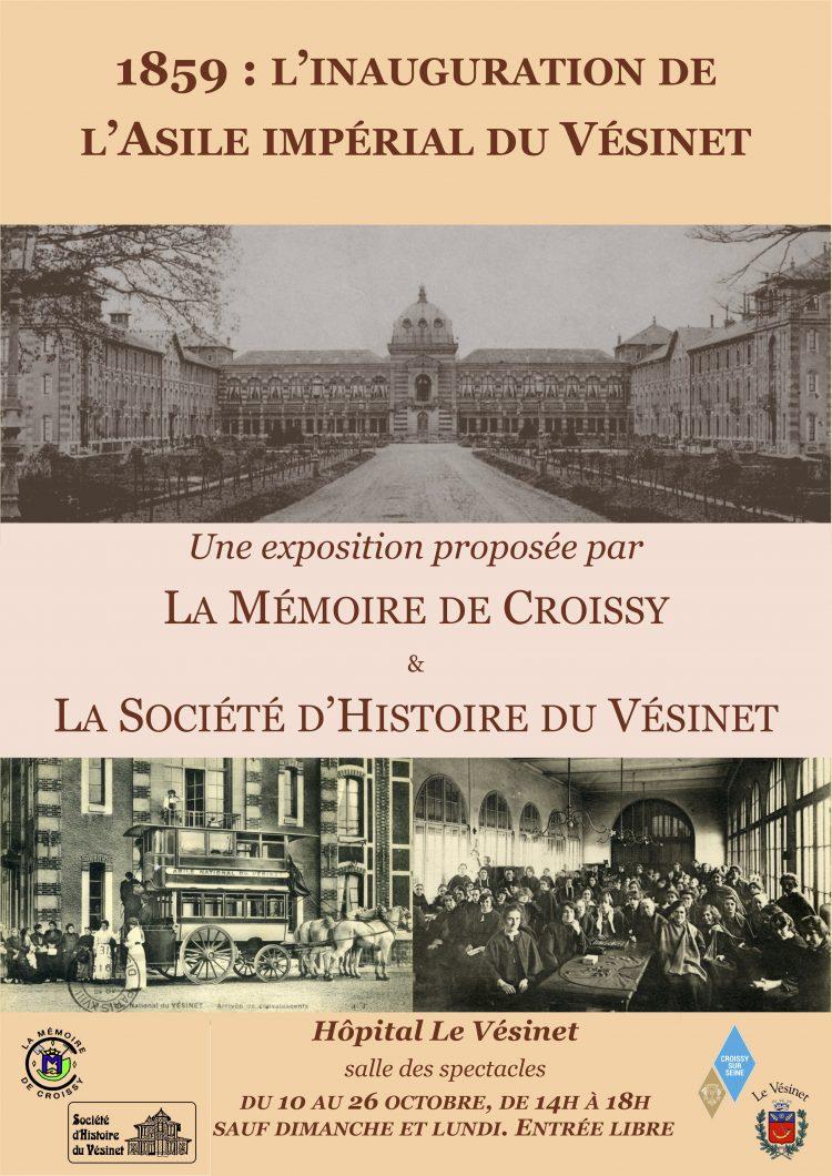 Exposition «1859 : inauguration de l'Asile impérial du Vésinet »