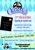 5ème Fête de la Bière «Oktoberfest»