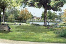 Les espaces verts du Parc Princesse : concilier nature et architecture