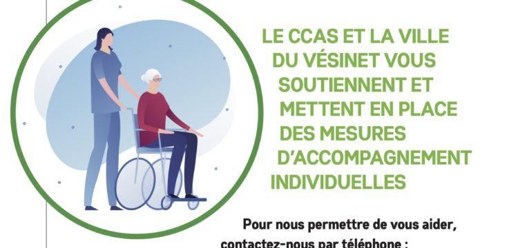 Coronavirus [COVID-19] : personnes âgées, isolées, vulnérables, handicapées ou sans ressources : faites-vous connaître !