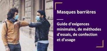 Comment fabriquer un masque selon l'AFNOR