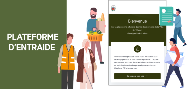 [COVID-19] Création de la plateforme officielle d'entraide entre Vésigondins