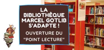 Déconfinement : la bibliothèque ouvre son «Point Lecture»