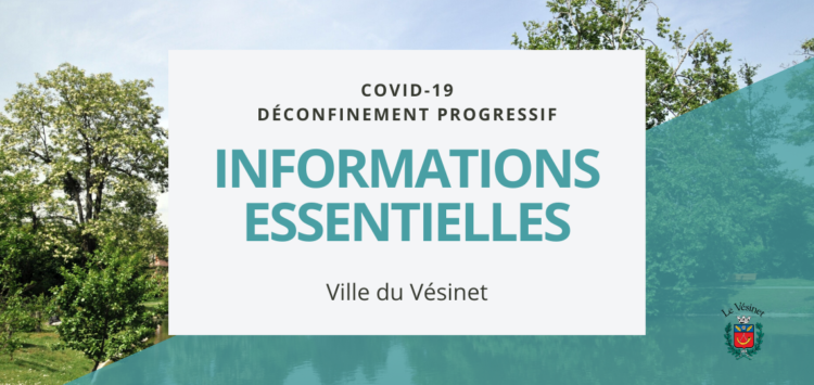 Gestion de la crise sanitaire du Covid-19 au Vésinet