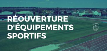 Déconfinement : réouverture de certains équipements sportifs