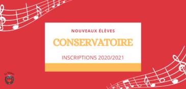 Nouveaux élèves : inscriptions au Conservatoire