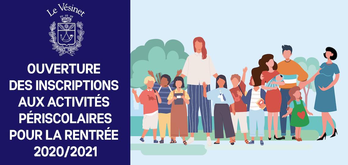 Activités périscolaires de la rentrée : inscrivez vos enfants avant le 3 juillet 2020