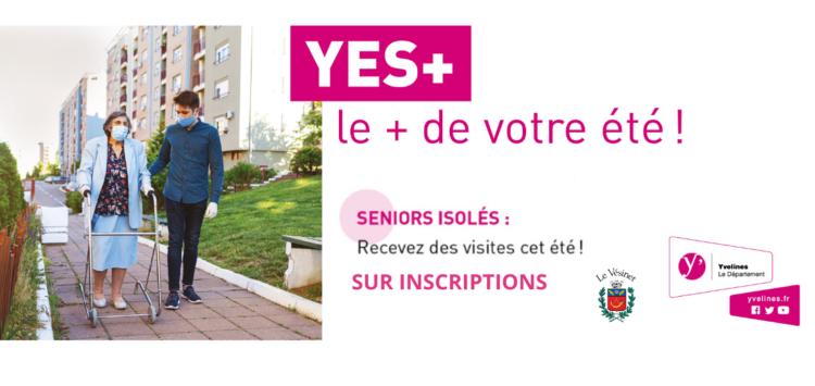 Le dispositif Yvelines Etudiants Seniors + pour cet été