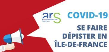 Ouverture de centres de dépistage et de diagnostic Covid-19