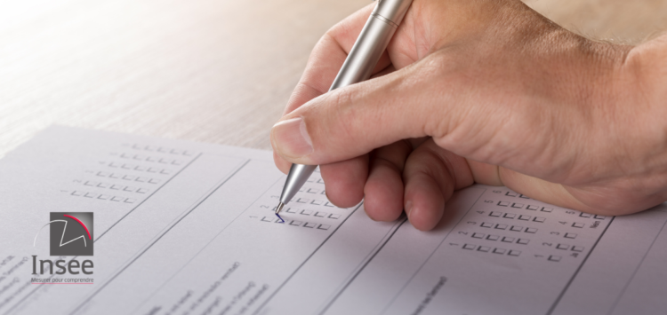 L'Insee réalise une enquête jusqu'au 31 décembre 2020