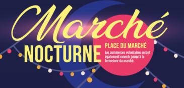 Marché nocturne – Vendredi 25 septembre