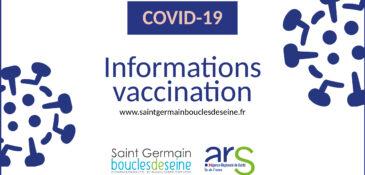 Informations sur la vaccination Covid-19