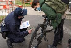 Opération de sensibilisation des cyclistes