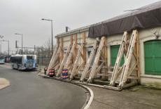 Trop dégradée, l'ancienne gare du Vésinet/Le Pecq risque de s'effondrer