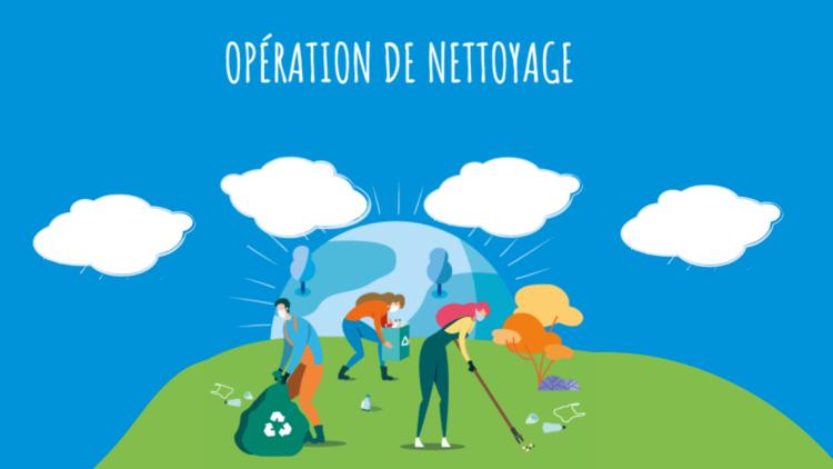 Pour préserver votre quartier, la Ville organise des opérations de nettoyage citoyennes